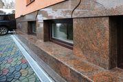 Отделка фасадов травертином гранитом и мрамором. - foto 3